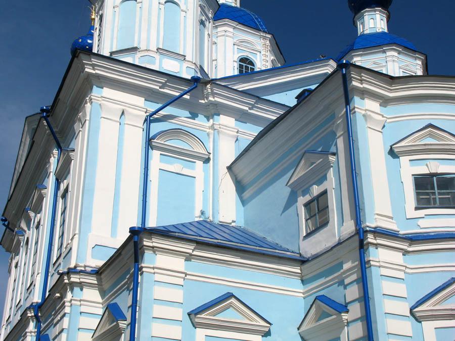 Архитектурные детали Казанского собора